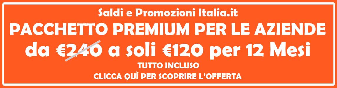 promozioni saldi italia